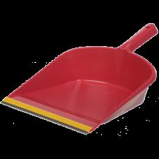 Совок для мусора с резиновой насадкой, цвет ассорти