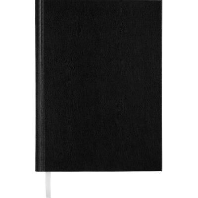 Ежедневник недат. STRONG, L2U, A5, черный, бумвинил