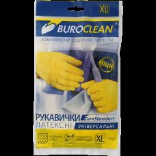 Перчатки хозяйственные, латексные, Buroclean, размер XL