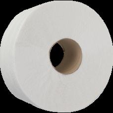 Бумага туалетная 2-слойная, 8 рул, Джамбо, 100м, на гильзе, целюлоза