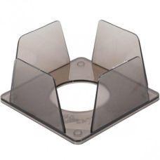 Куб для бумаги 9х9x4,5 cм дымчатый, КИП