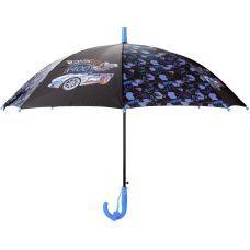 Зонтик Kite детский HW20-2001, полуавтомат, трость, пластиковая ручка, 8 спиц, диаметр купола 86 см, свисток