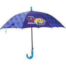 Зонтик Kite детский TF20-2001, полуавтомат, трость, пластиковая ручка, 8 спиц, диаметр купола 86 см, свисток