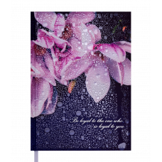 Ежедневник недатированный POSH, A5, кобальтовый