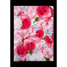 Папка-уголок А4, ROMANCE, ARABESKI, розовая