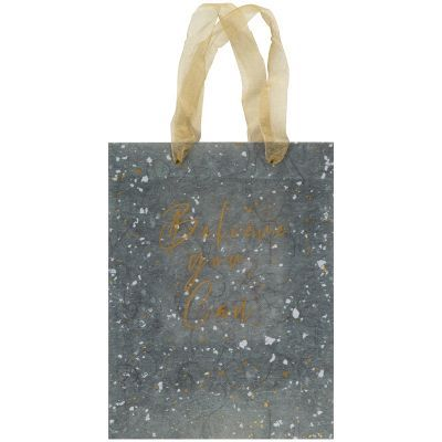 Пакет пластиковый подарочный 25х19x8.5см, Shade Green