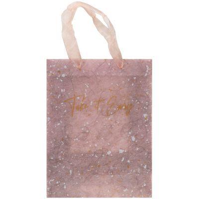 Пакет пластиковый подарочный 25х19x8.5см, Shade Violet
