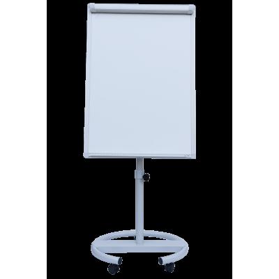 Флипчарт магнитный сухостираемый, 70 х100 cм, мобильный, вертикальный, BM.0010