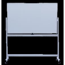 Флипчарт магнитный сухостираемый, 90 х150 cм, мобильный, горизонтальный