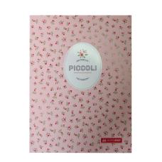 Записная книжка PICCOLI, А5, 80 л., клетка, интегральная обложка, светло-розовая