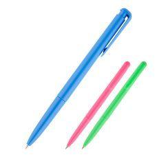 Ручка шариковая автоматическая DB 2057, 0.7мм корпус ассорти, синий