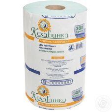 Бумажные полотенца Кохавынка 1 слойные, 300 отрывов, 80 метров