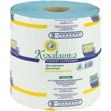 Бумажные полотенца Кохавынка 1 слойные, 1050 отрывов, 150 метров
