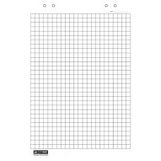 Блокнот для флипчарта, 20 листов, клетка, 64 х 90см, клетка