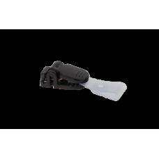 Клип для идентификатора пластиковый черный