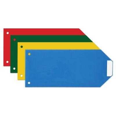 Индекс-разделитель 10,5х24см Economix пластик цветной 100 шт. ассорти
