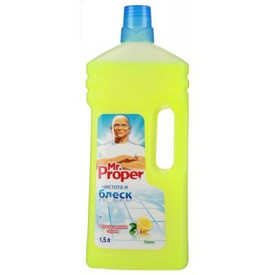Средство чистящее жидкость Mr.PROPER 1500мл, Лимон