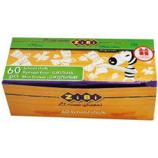 Мел белый 60шт., картон коробка