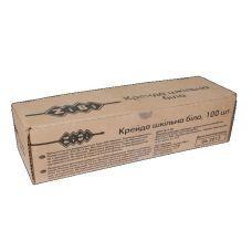 Мел белый + цветной 100шт., картон коробка