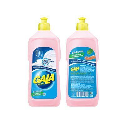 Жидкость для мытья посуды GALA 500мл, бальзам алое (JP2410)