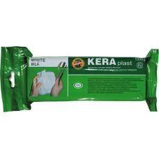 Пластилин Keraplast, 300г, белый