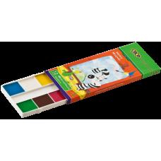 Краски акварельные. 12 цветов,  карт./кор., б/п.