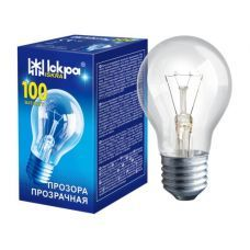 Лампочка Искра 100W а55 Е27 прозрачная