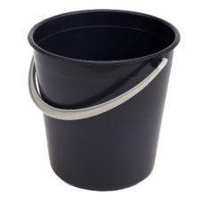 Ведро пластиковое 10л черное