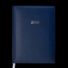 Ежедневник датированный 2019 BASE Miradur A6 синий