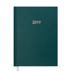 Ежедневник датированный 2019 STRONG A5 зеленый