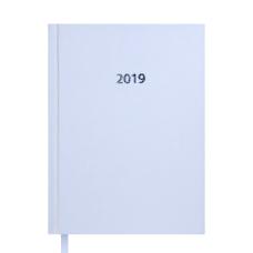 Ежедневник датированный 2019 STRONG A5 белый