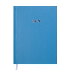 Ежедневник датированный 2019 STRONG A5 голубой