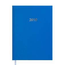 Ежедневник датированный 2019 STRONG A5 св.-синий