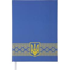 Ежедневник недатированный UKRAINE, A5, синий