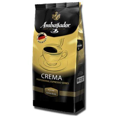 Кофе в зернах Ambassador Crema 1кг, Германия (32556)