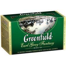 Чай черный Greenfield в пакетиках Earl Grey Fantasy 2г х25шт