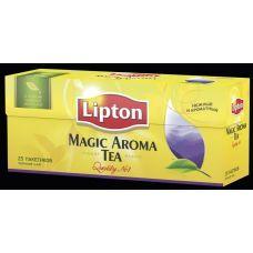 Чай черный Lipton Magic aroma байховый, 25х2г/уп