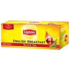 Чай черный Lipton ENGLISH BREAKFAST байховый 25x2г
