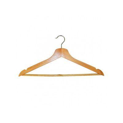 Вешалка одежная с нарезами, 44,5 х 23,0 х 1,2 см (RE05210)