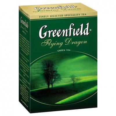 Чай зеленый Greenfield Flying Dragon 100г (106273)