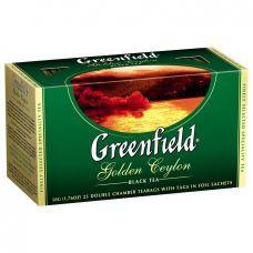 Чай Golden Ceylon 2г х 25 шт, Greenfield