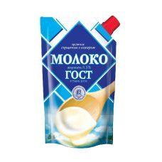 Сгущенное молоко в пакете 290гр.