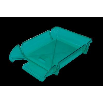 Лоток для бумаг горизонтальный Компакт JOBMAX св.-зеленый (80607)