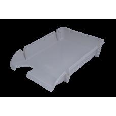 Лоток для бумаг горизонтальный Компакт JOBMAX серый