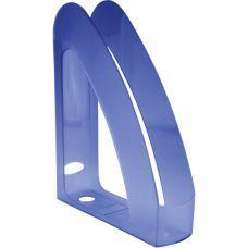 Лоток для бумаг вертикальный синий