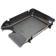 Лоток для бумаг горизонтальный Компакт JOBMAX черный