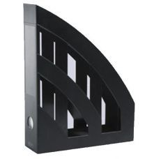 Лоток для бумаг вертикальный ЛВ-01 черный