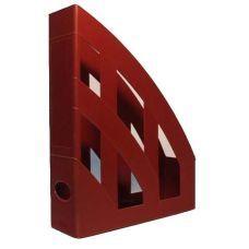 Лоток для бумаг вертикальный ЛВ-01 красный