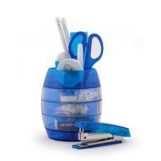 Набор настольный Economix 12 предметов синий