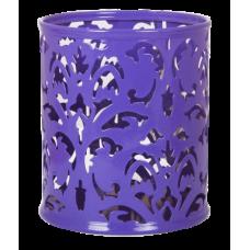 Подставка для ручек Barocco 83х100мм металл фиолетовый